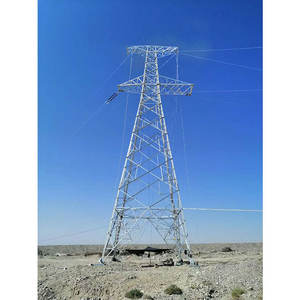 Transmission Line Power Steel Pipe Electric Towers Transmission Line Self Supporting Lattice Tower