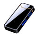 High Tech Thumb Touch Button Power Flame Arc Electronic Usb Rechargeable Plasma Cigarette Lighter