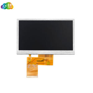 10 Years Manufacturer 4.3 inch 480*272 RGB Interface 350nits to 900nits ST7282 IC Innolux LCD Panel TFT LCD Module Screen