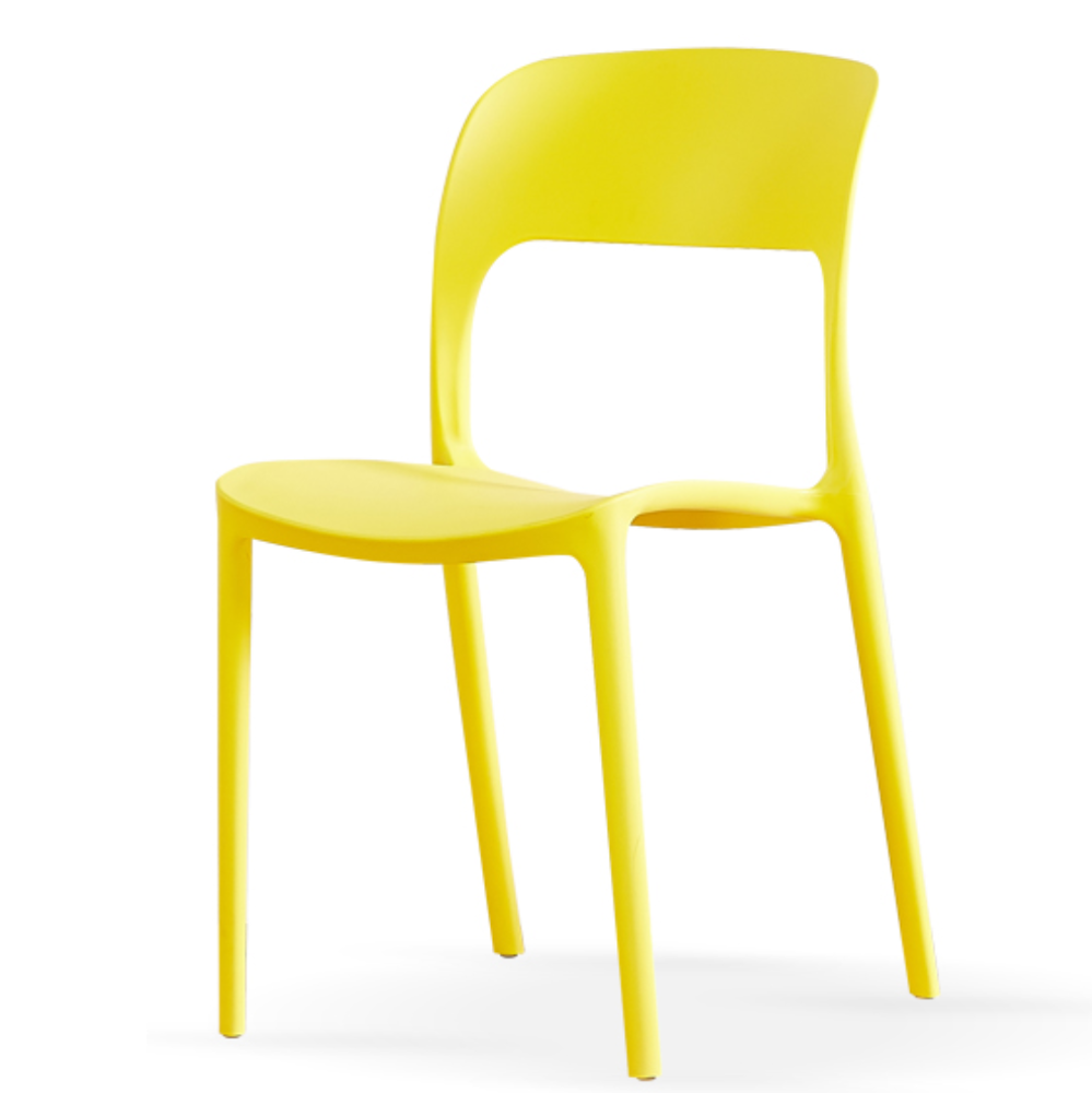 Cheap stackable plastic restaurant cafe dining room chair