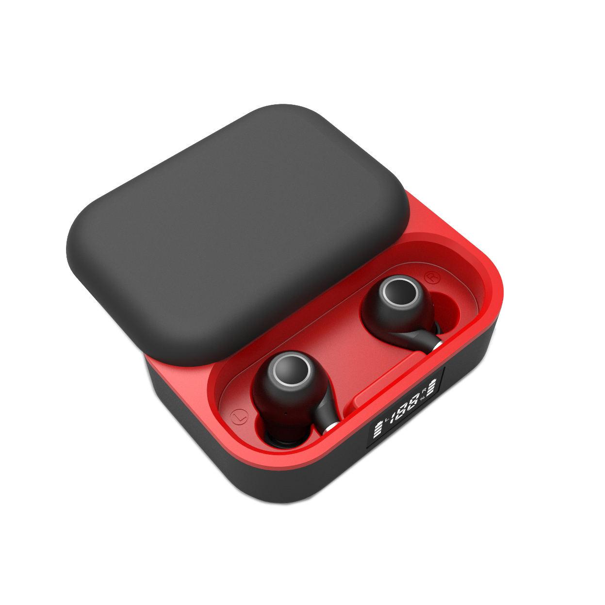 TWS Bluetooth 5.0 Sans Fil sport Écouteurs IPX7 Étanche Bluetooth Écouteurs de haute volume 2600MAH boîte de recharge