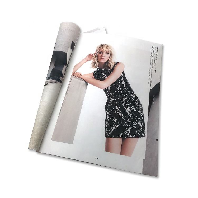 Full color hardcover custom make your own the photo book magazine printing service