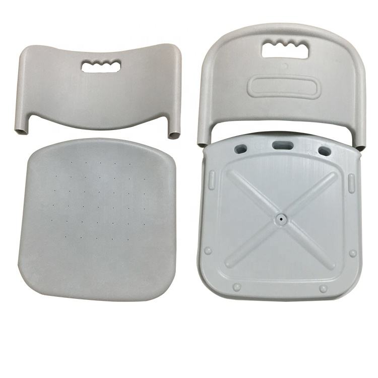 Blow Plastic Inflatable Stadium Seat and Back for Chairs