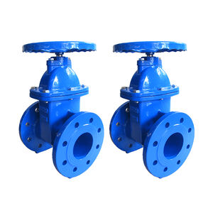 High Efficiency Cast-Iron Wedge Non-Rising Stem Flanged Gate Valve