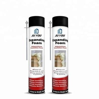 Insulation Color Spray Low Expans Pu Liquid Polyurethan Fill Foam