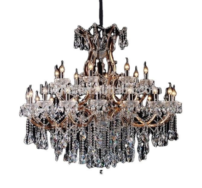 Hot sell asfour crystal chandeliers oriental for promotion amber maria theresa light