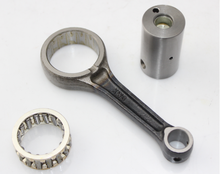 Motorcycle connecting rod with OEM connection rod bearing CBF125 for motocicleta honda