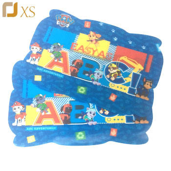 Wholesale Children Washable Custom Thin Irregular Dinner 3D Plastic Placemat