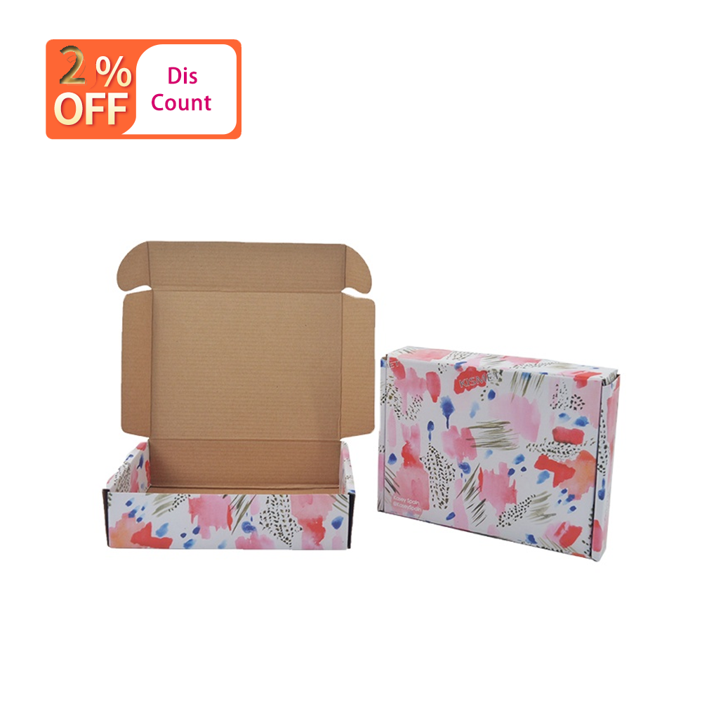 High Quality Custom Printed Cardboard Folding Subscription Boxes Postal Boxes