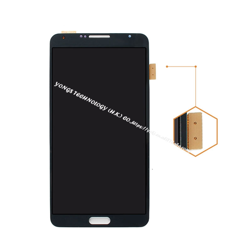 china wholesaler touch screen For samsung Galaxy Note 3 N900 N9005 N900A N900P N900T LCD Screen + Digitizer Black