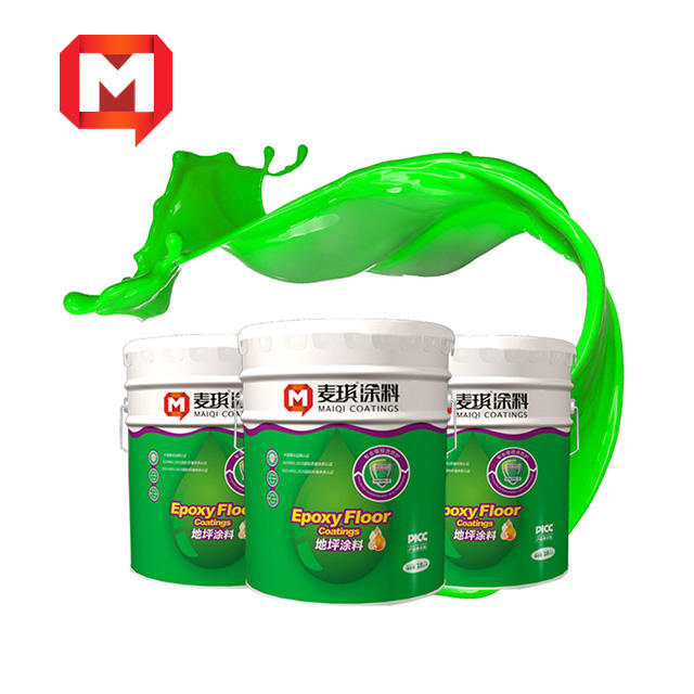 Maiqi high quality Low price clear epoxy resin paint coating and hardener