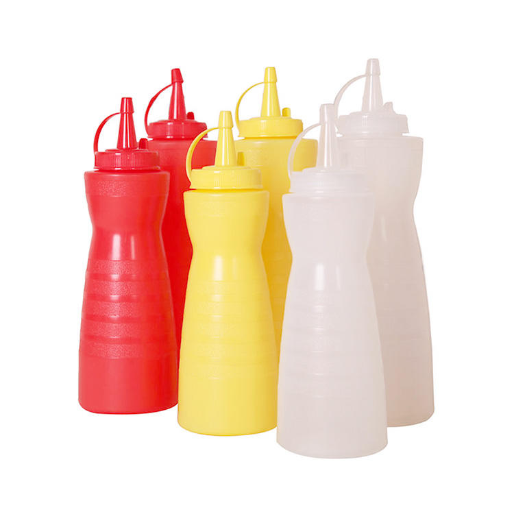 Forma di zucca 12Oz 16Oz 24 Once di <span class=keywords><strong>Salsa</strong></span> di <span class=keywords><strong>Pomodoro</strong></span> Bottiglia di Bottiglie Di Plastica Per La <span class=keywords><strong>Salsa</strong></span>