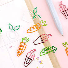 Cute cartoon carrot shape paper clip