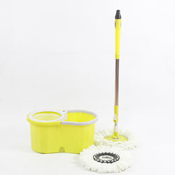 Wholesale Long Telescopic Handle 360 Spin Plastic Mopper Floor Cleaning Mop with Bucket