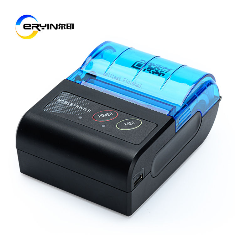 58Mm Ey-58E Draagbare Desktop E-mail Thermische Ontvangst Bluetooth Printer