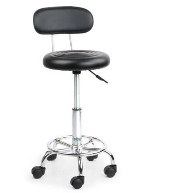 Graphic Customization [ Chair Barber Hair ] Hair Barber Chair Wide Backrest Salon Beauty Leather Chair With Strong Wheels Adjustable And Rotating Barber Chair Hair Salon Stool