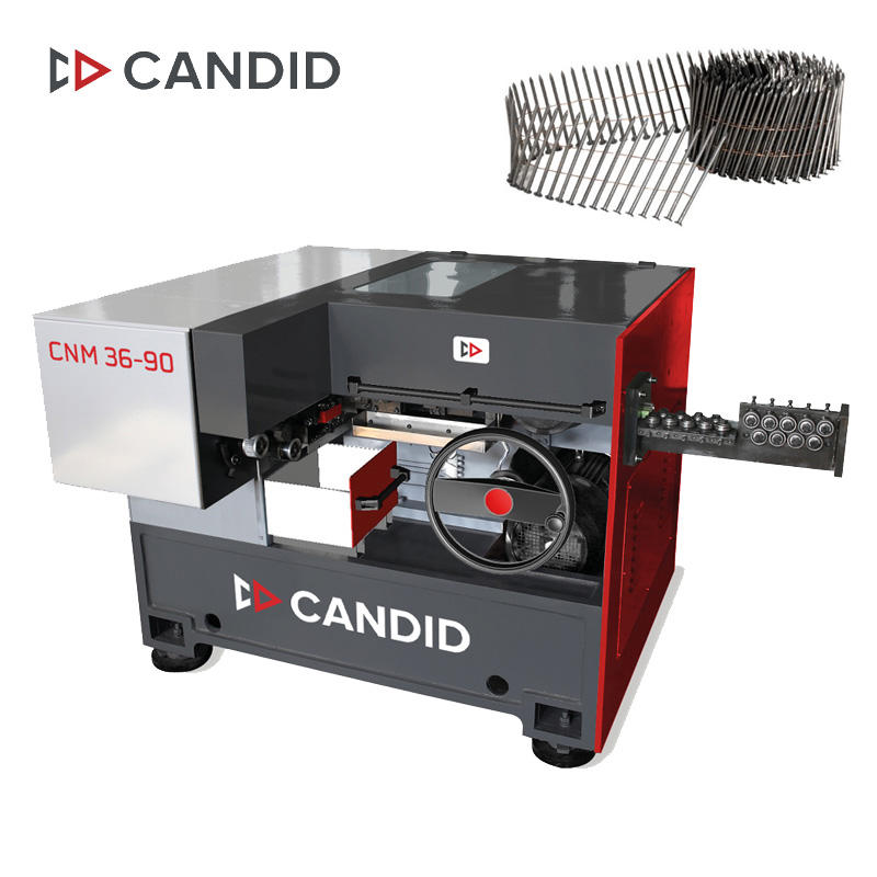 CANDID Automatic Steel Wire High Speed Nails Making Machine