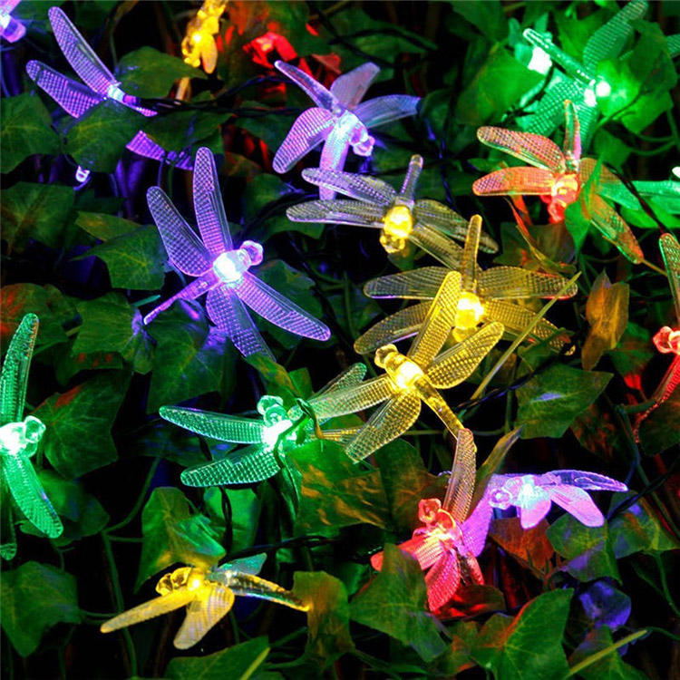 Solar Powered Starfish Fairy String Light Party Decor Yard Garden Path Lamp solar powered lights outdoor string lights