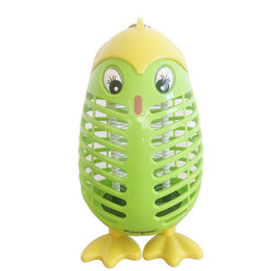 Drie Kleine Vogels Cartoon Lamp Led Insect Val Uv Ongediertebestrijding Licht Indoor Led Elektronische Muggen Killer