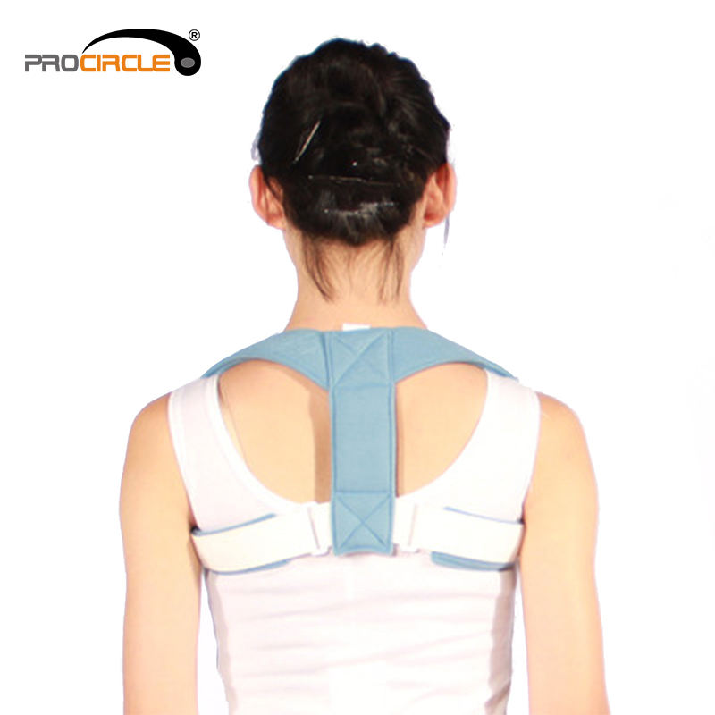 Posture Corrector For Men And Women - Adjustable Upper Back Brace For Clavicle Support and Providing Pain Relief