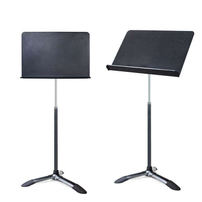 Factory adjustable all metal instrument orchestra sheet music stand for music note