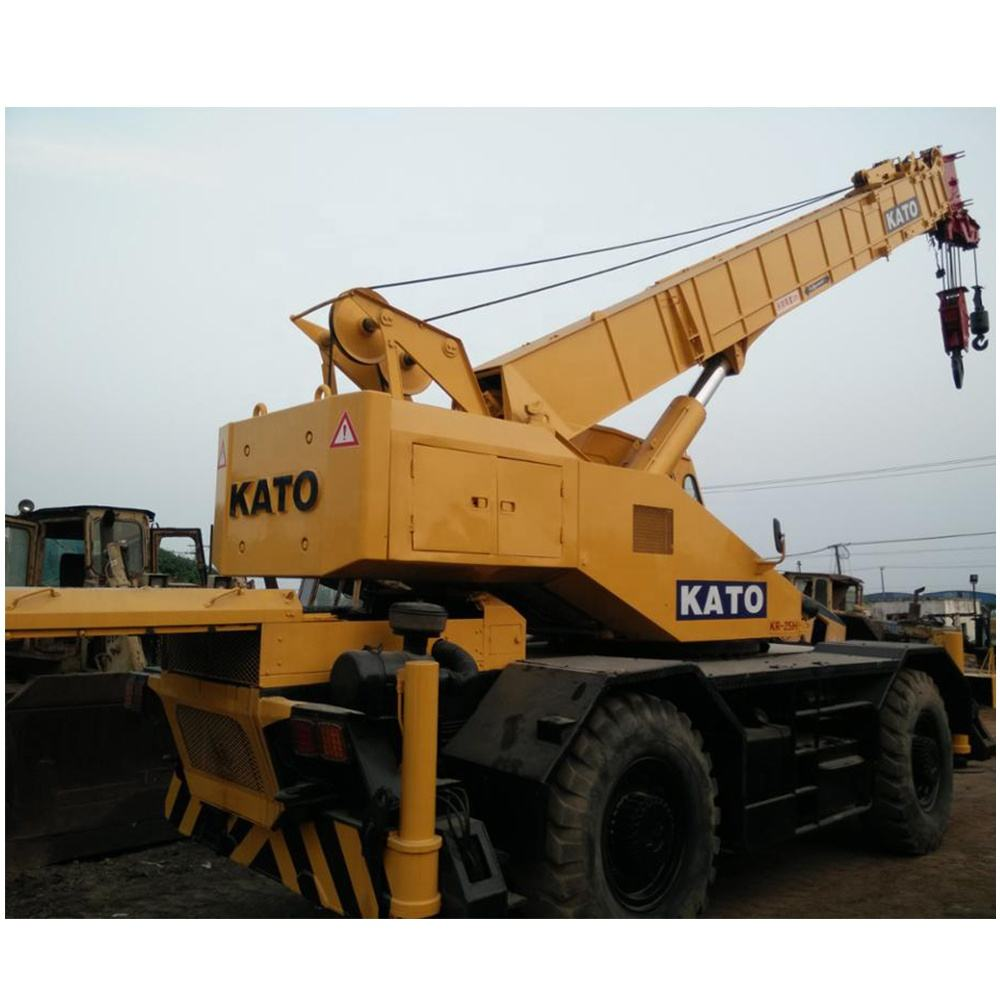 Energy Saving Used Original Kato Kr-25h Rough Terrain Truck Crane 25 Ton