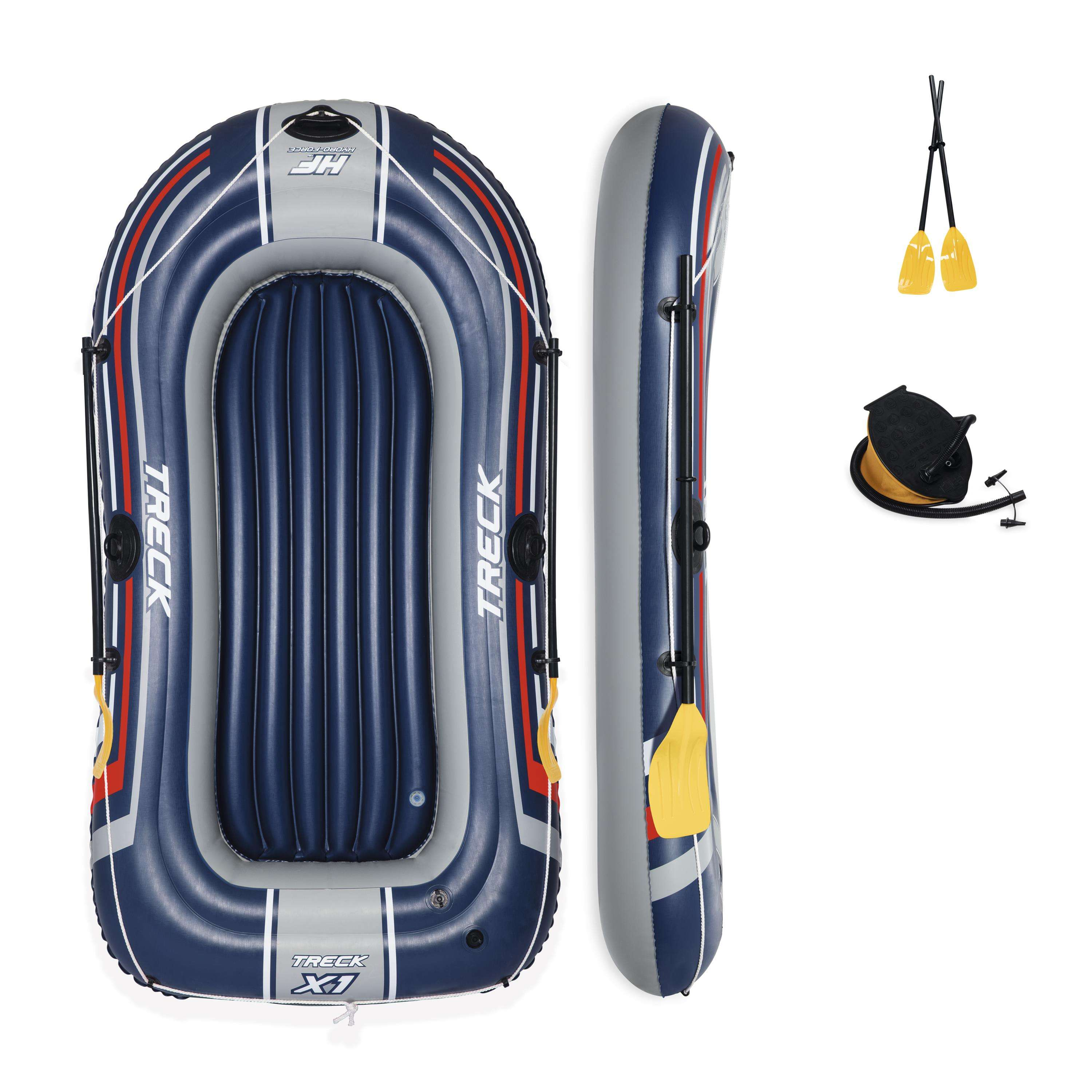 Bestway 61083 Treck x 1 set inflatable sports boat inflatable fishing boat 2.28m x 1.21m