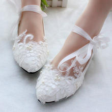 sh11493a Different heel height shoes women dress white color bridal wedding shoes