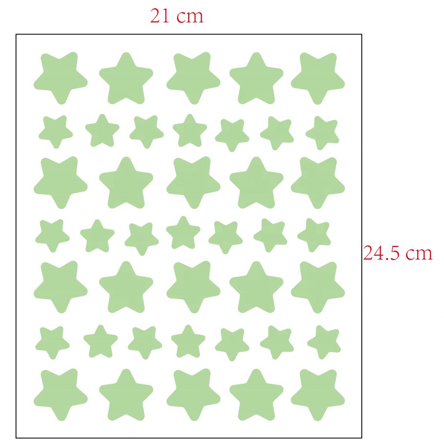 Factory wholesale DIY Stars Removable Fluorescent Kids Room Decor Glow In The Dark Sticker