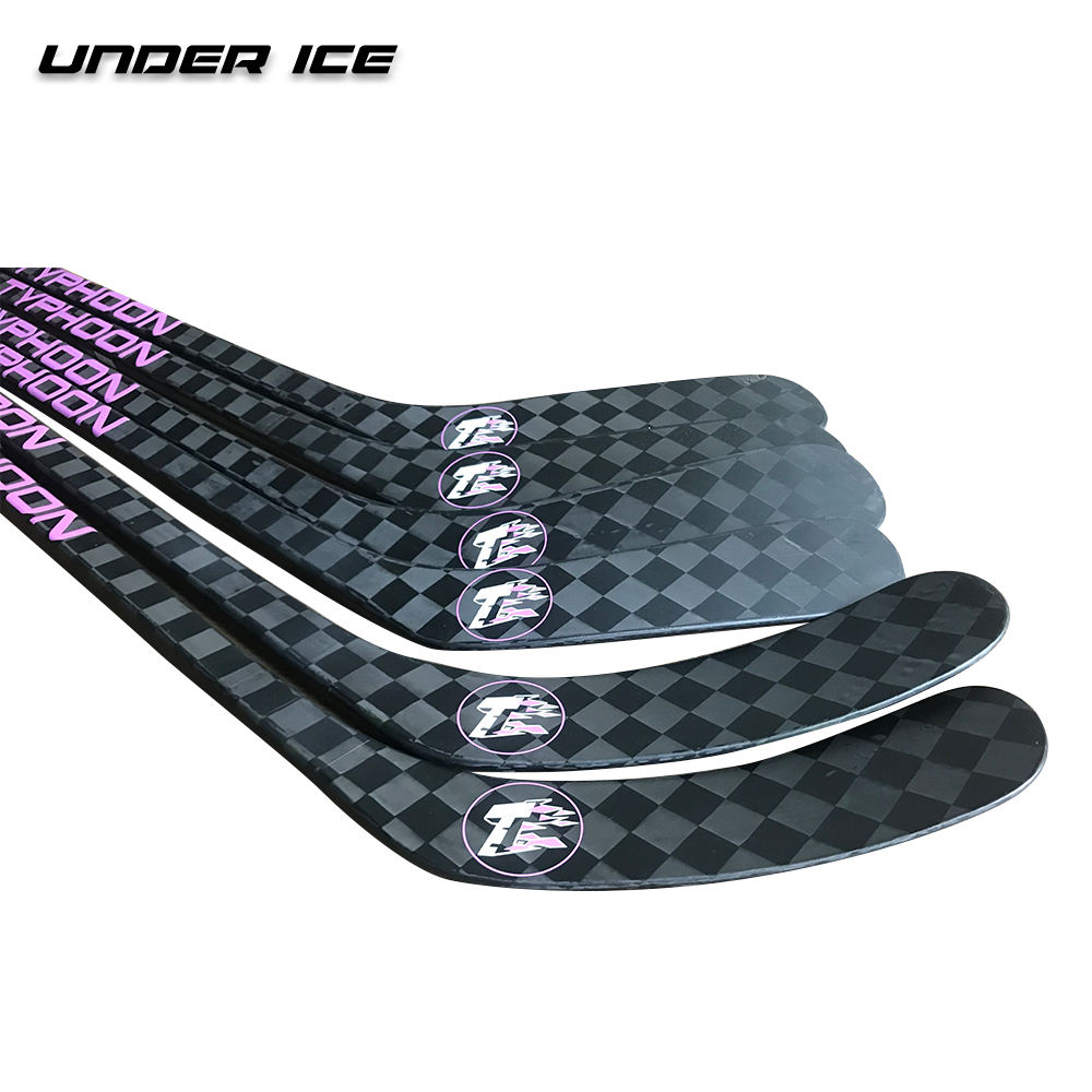 Factory Clearance sales customized logo ice hockey stick carbon fiber hockey stick