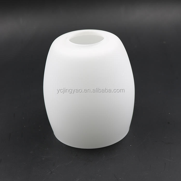 supply white cylindrical glass ceiling lights lamp shade diffuser