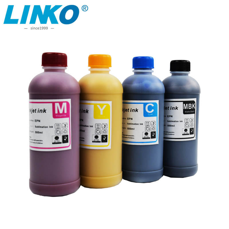 Fluently Dye Sublimation Ink Stable for Mug Ceramic Pillow and Plate Print