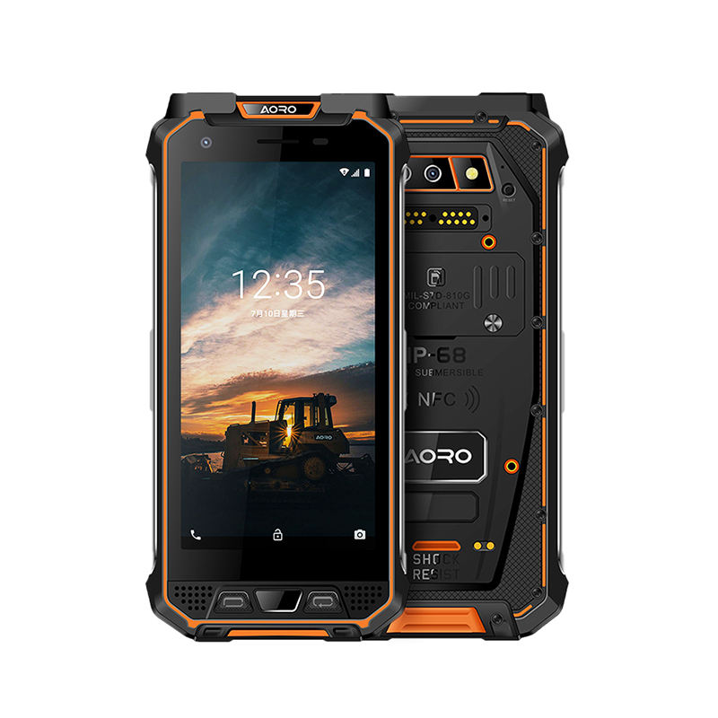 Handheld data collection terminal three-proof mobile phone outdoor ip68 waterproof dust shock rugged smartphone