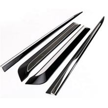 Car Exterior Accessory Chrome Side Door Molding  For 14-19 Toyota Corolla