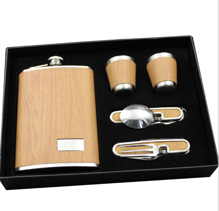 Amazon Top Seller 2019 Savoy Whisky Regali Aziendali Di Lusso Hip Flask Set, bestseller 2019 Amazon Regalo E Premium Vuoto Fiaschetta