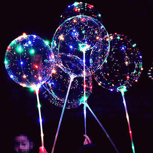 Nicro Factory Wholesale Led Light Balloon,Clear Balloon With Led Light