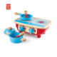 Wooden Cooking Toys Kitchen Play Set For Kids Wooden Toy Kitchen