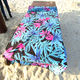 Microfiber hot transfer printed beach towel /digital printed beach towels wholesale