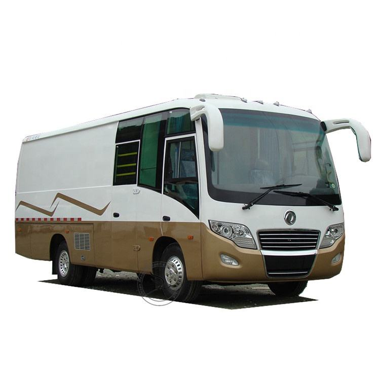 7.5m Mini 3t Load Capability Cargo Van Bus mit 2 Heater und One Bed 1280/2400 71 - 90 Km/h Dongfeng Optional 3720 Mm 3800 Kg