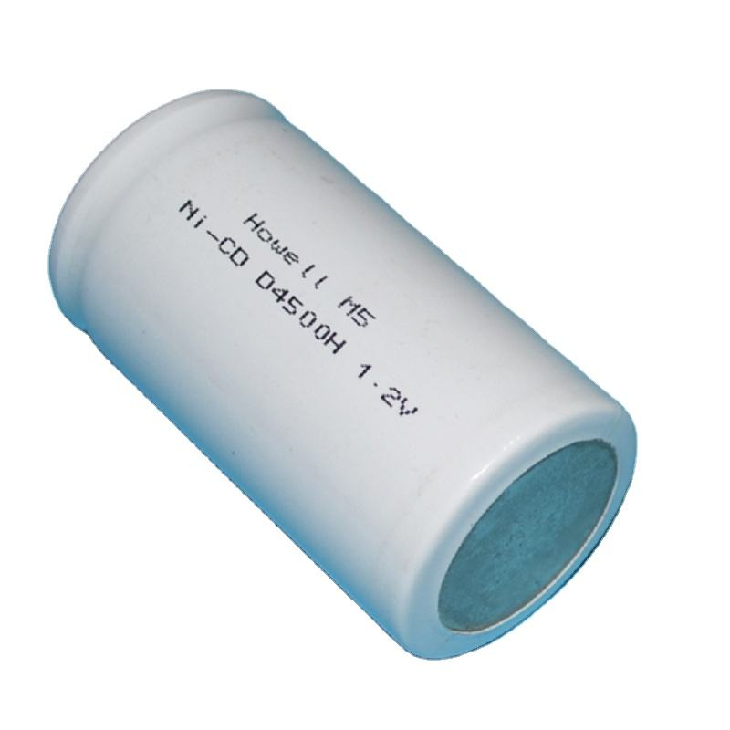 Battery Manufacturing Dry Cell NICD Battery 1.2V 4500mAh D Size NI-CD Rechargeable Batteries For Flashlight