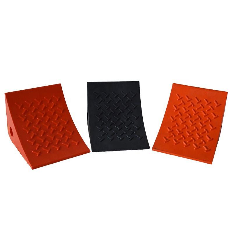 5T Выносливость Antiskid Зерно Дизайн Клиент Логотип PU Колесо Chock