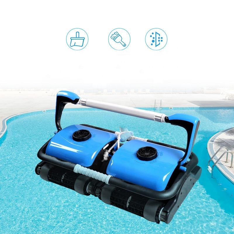 Swimming pool hot water carpet cleaning machine automatic pool cleaner robot in the water park