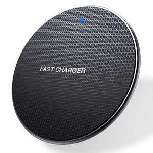 Free Sample 10W Universal Mobile Phone Fast Charging Pad Qi Wireless Charger