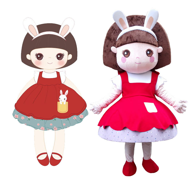 Whole sale china factory holiday party event supply cheap custom made mascot costume adult