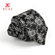 Black Tie Black Black Neck Tie Made In China Beautiful Floral 100% Polyester Black Mens Neck Tie