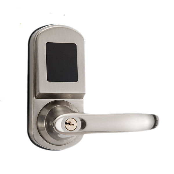 single latch rfid hotel card lock rfid hotel door lock with magnetic card lock hotel