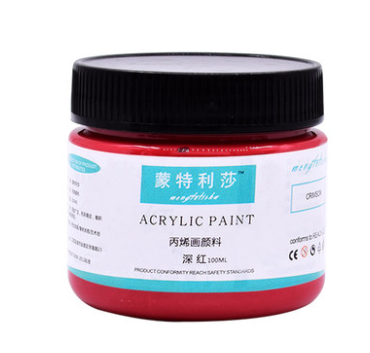 36 paint paints acrylic pigments can be used on paper and walls 100ml