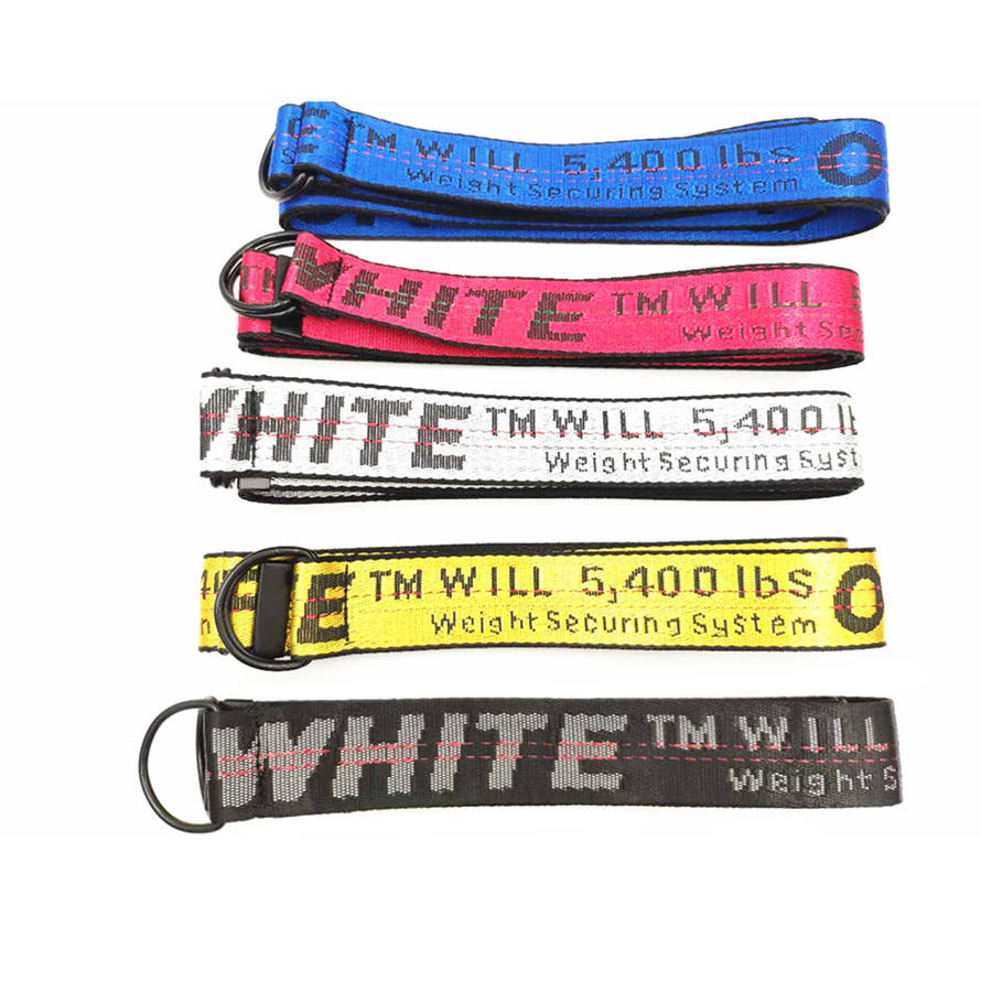 White D buckle off Belt authentic custom belt buckle 200cm price 20% off