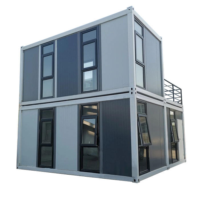Luxurious Modern Two Story Container Home House cheap prefab houses