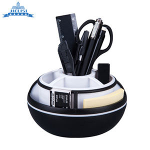 Custom Made Pen Holder Desk 360 Degree Rotating Pen Holder High Quality Kids Pen Pot Holder